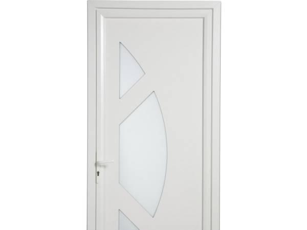Installer une porte d 39 entr e pvc pour particulier notre dame de gravenchon entreprise de - Installer chatiere porte pvc ...